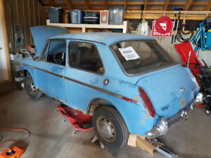1970 Austin America 1100 mk2 with parts car project