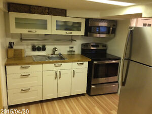Fully Furnished Basement Suite *BEST LOCATION - JUST OFF WHYTE*