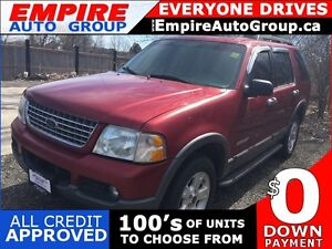 2005 FORD EXPLORER XLT * 4WD * LEATHER * SUNROOF * POWER GROUP