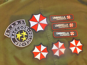 RESIDENT EVIL COLLECTABLE PATCHES! 25$ for all !!