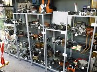 Cameras -ALL TYPES- 35MM, 120,CINE,SLR, FOLDING, RANGEFINDER, BOX, POLAROID, LEICA, NIKON -ALL CHEAP