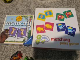 Kids pairs games