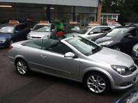 Vauxhall Astra 2.0 Twin Top Design CONVERTIBLE - 2006 56-REG -FULL 12 MONTHS MOT