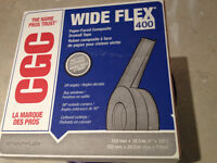 WIDE FLEX 100 FOOT ROLL AND DRYWALL COMPOUND