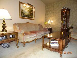 sofa et 2 chaises vintage