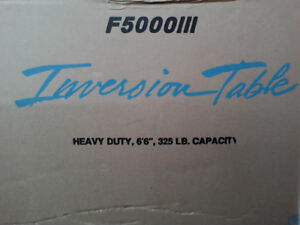 New! In box! Inversion Table F5000III