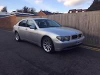 BMW 745 4.4 AUTO 2003 SILVER 2003 ONLY 99,000 MILES