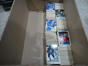 LOT of Hockey and Baseball Cards (Over 1500)
