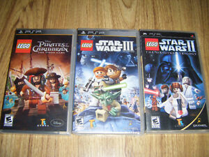 3 PSP games for sale