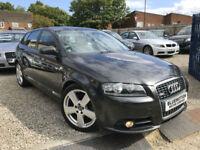 ✿08-Reg Audi A3 2.0 TDI 170 S LINE Sportback, Diesel, ✿NICE EXAMPLE✿