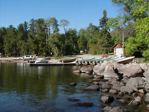 July Vacation Getaways in a Whiteshell Deluxe Lakefront Cottage