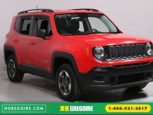 2016 Jeep Renegade Sport 4X4 A/C MAGS BLUETOOTH CAMERA RECUL
