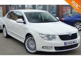2012 62 SKODA SUPERB 2.0 LAURIN AND KLEMENT TDI CR 5D 140 BHP 60MPG!