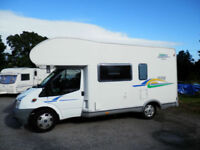 Chausson Flash S3, 6 berth, large rear garage motor home for sale.