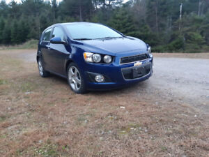 2012 Chevrolet Sonic 1.4 Turbo ONLY 50 000 KMS!