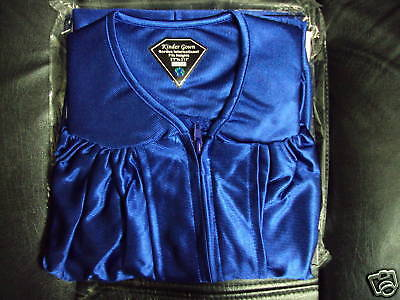 NEW ADULT ROYAL BLUE GRADUATION CAP AND GOWN CHOIR GOWN size 51 5'6
