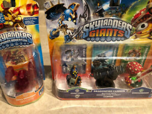 NEW SKYLANDERS FROM GIANTS AND SPYRO'S