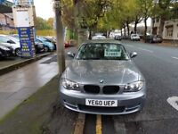 BMW 1 SERIES 118d SE (grey) 2010