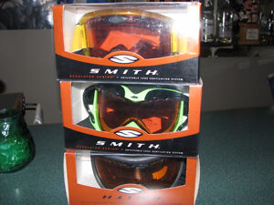 Smith Ski Goggles;Lunettes a Ski Smith
