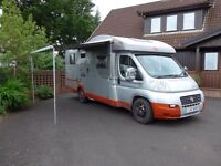 4 berth motor home - excellent condition - one owner from new - Burstner Quadro IT674