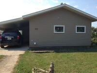 2 bedroom house for rent MELFORT/pet friendly!