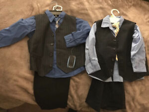 Boys suits (size 3 and 4)