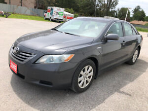 2009 TOYOTA CAMRY HYBRID 4C 2.4L:LEATHER,NAVIGATION, NO ACCIDENT