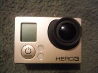 GoPro Hero3 Black Edition w/ Spare Parts Grab Bag