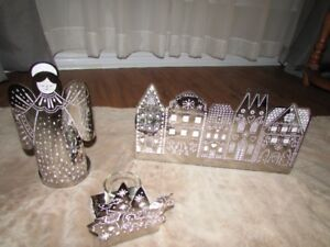 Christmas Partylite items