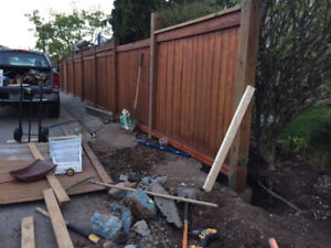 Broken fence/posts? we can repair or replace