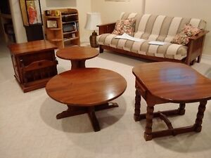 SET of COFFEE/END TABLES