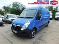 VAUXHALL MOVANO 2.3CDTI 16v 100PS L2H2 M/ROOF MWB 3300 AIR/CON FULLY RACKED