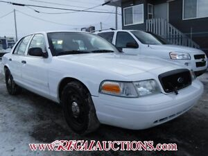 2009 FORD CROWN VICTORIA 4D