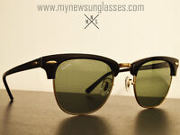 Rayban CLUBMASTER RB3016 New - Hand Made in Italy - 100% authen
