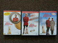 DVD Seasons 1-3 DUE SOUTH 90's Canadian Cop Comedy Drama