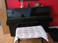 black Kawii piano for sell