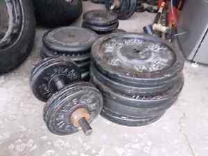 800lbs of free weights  want GONE!