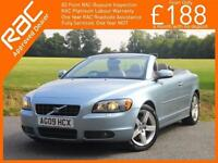 2009 Volvo C70 2.4 Sport 5 Speed Convertible Electric Hard Top Sat Nav Bluetooth