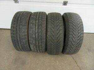 4-205/55R16 M+S WINTER TIRES CAN SELL IN PAIRS