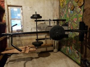 All in one BENCH PRESS