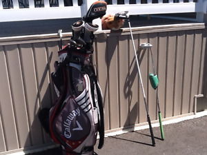 Golf Clubs with bag (right handed)