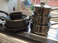 Saucepans and pans