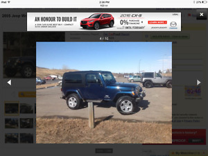 2005 Jeep TJ Unlimited Coupe (2 door)