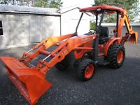 Rare Kubota L-39, mint and a John Deere 2210 only 300 hrs