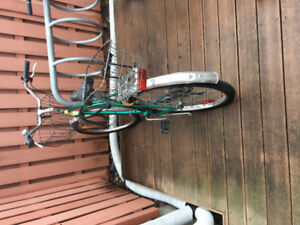 Adult bike for sale with lock