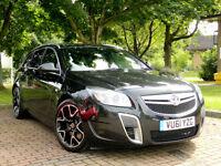 2011 61 Vauxhall Insignia 2.8 i V6 Turbo 4x4 VXR Tourer WITH SATNAV+XENONS+DAB++