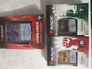 Magic the gathering sealed commander and ravnica guild kits