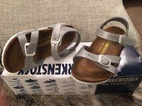 Children's Birkenstock sandals size 9