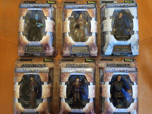 Star Trek Enterprise Action Figures Mint in Boxes