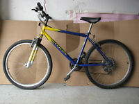 "26"" Precision Mountain Bike + Aluminum rims"